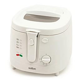Salton Cool Touch 2.5 qt. Deep Fryer in White