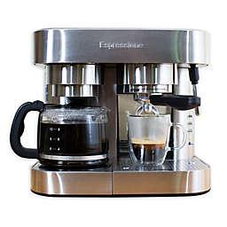 Espressione Combi Stainless Steel Espresso & Coffee Maker