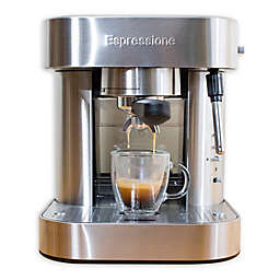 Espressione Automatic Pump Stainless Steel Espresso Machine