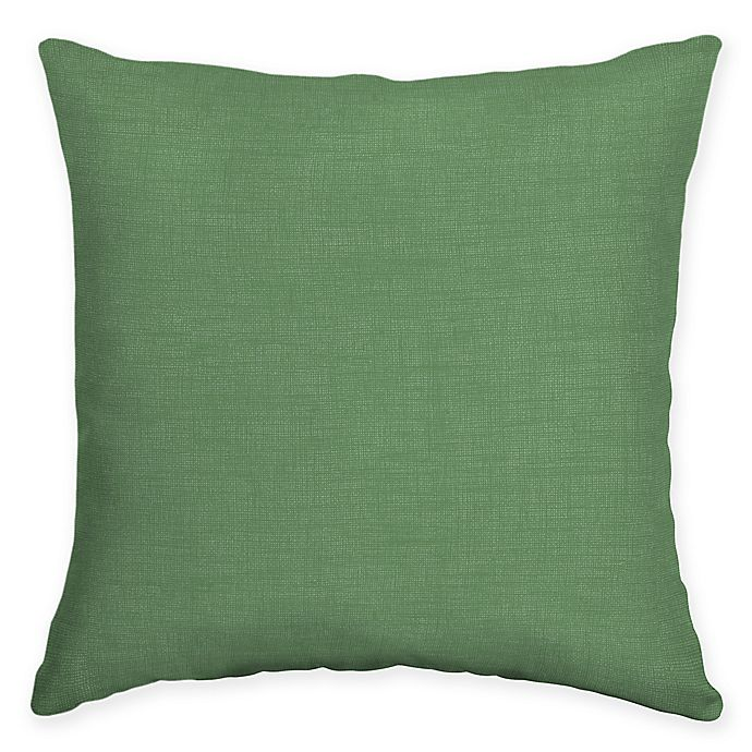 Alternate image 1 for Arden Selections™ Moss Quintana Collection Solid Oblong Throw Pillow