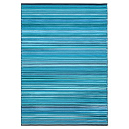 Bali Indoor/Outdoor Patio Mat in Blue
