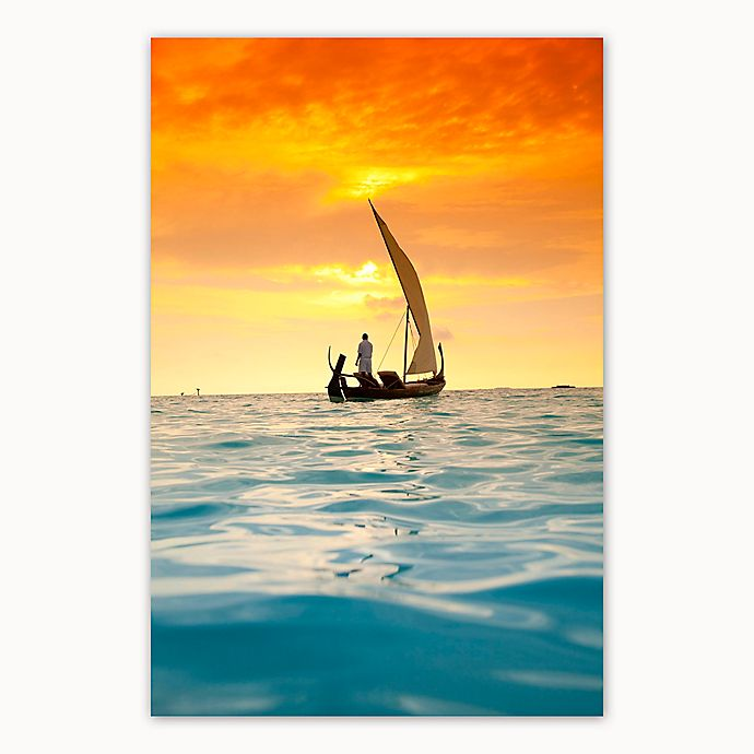 Alternate image 1 for Christopher Knight Collection® Sunset Sail 27-Inch x 36-Inch Canvas Wall Art