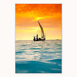 Colossal Images    Sunset Sail Canvas Wall Art