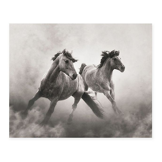 Alternate image 1 for Christopher Knight Collection® Wild Horses 18-Inch x 24-Inch Wrapped Canvas Wall Art