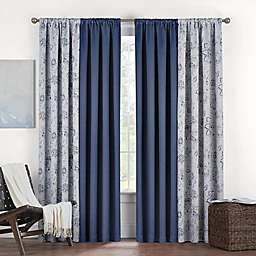 Eclipse Twilight Luna Rod Pocket Room Darkening Window Curtain Panel
