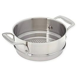 American Kitchen® 2.1 qt. Stainless Steel Steamer Insert