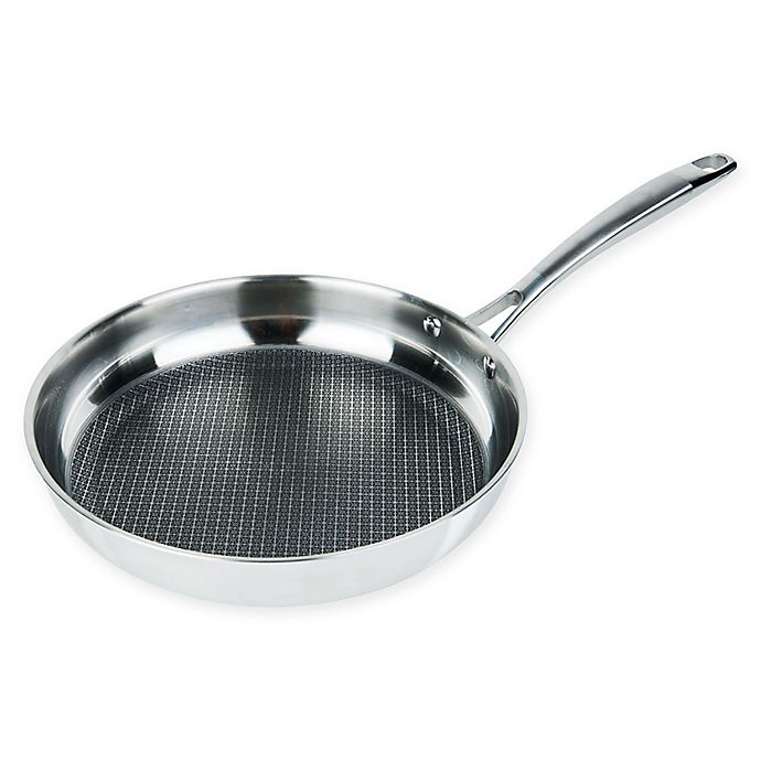 Alternate image 1 for MasterPan Chef's Series 11-Inch Tri-Ply Stainless Steel Fry Pan