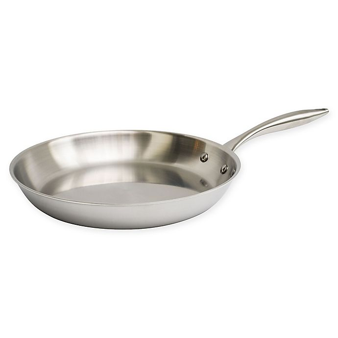 Alternate image 1 for Christopher Kimball by 1919 12-Inch Stainless Steel Skillet