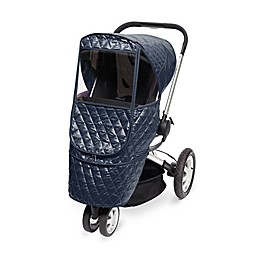 Manito Castle Beta Stroller Weather Shield in Navy