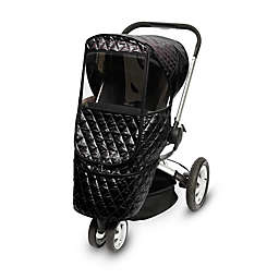 Manito Castle Beta Stroller Weather Shield in Black
