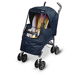 Manito Elegance Alpha Stroller Weather Shield in Navy