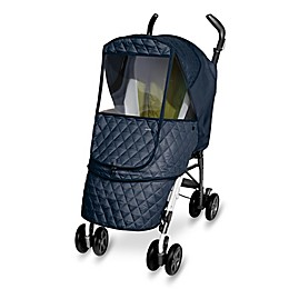 Manito Castle Alpha Stroller Weather Shield in Navy