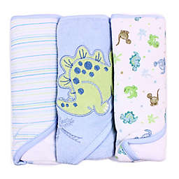 Spasilk® Hooded Towel (Pack of 3) - Dino