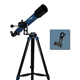 Meade® Instruments StarPro AZ™ 70mm Refractor Telescope in Black/Blue