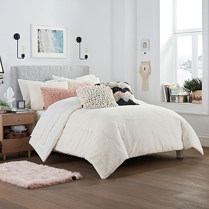 Ugg 174 Polar 3 Piece Reversible Comforter Set Bed Bath