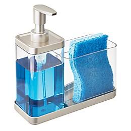 iDesign® Emery Soap Pump Caddy in Satin