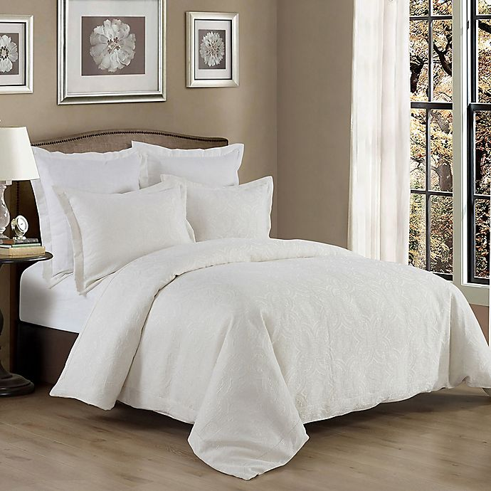 Alternate image 1 for HiEnd Accents Matelasse Reversible Coverlet Set