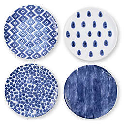viva by VIETRI Santorini Salad Plates (Set of 4)