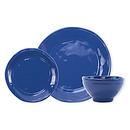 viva by VIETRI Fresh 3-Piece Place Setting in Marine Blue