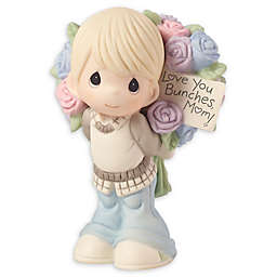 "Precious Moments® ""Love You Bunches, Mom!"" Boy Figurine"