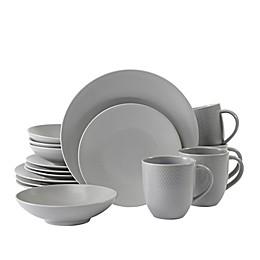 Neil Lane™ by Fortessa® Trilliant 16-Piece Dinnerware Set in Stone