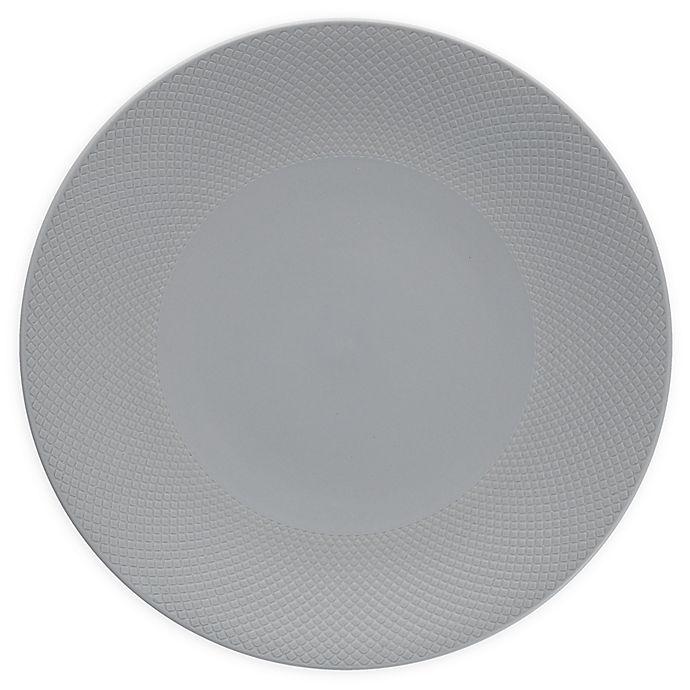Alternate image 1 for Neil Lane™ by Fortessa® Trilliant Dinner Plates in Stone (Set of 4)