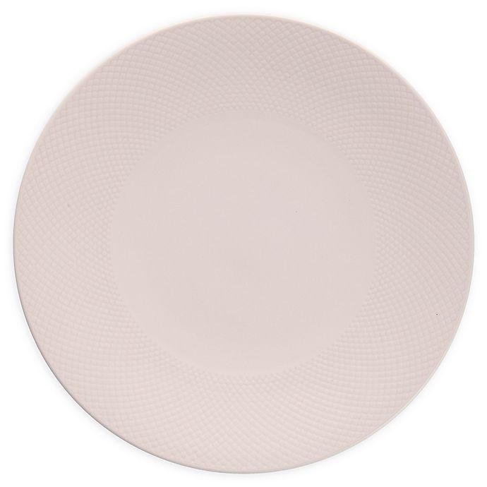 Alternate image 1 for Neil Lane™ by Fortessa® Trilliant Dinner Plates in Blush (Set of 4)