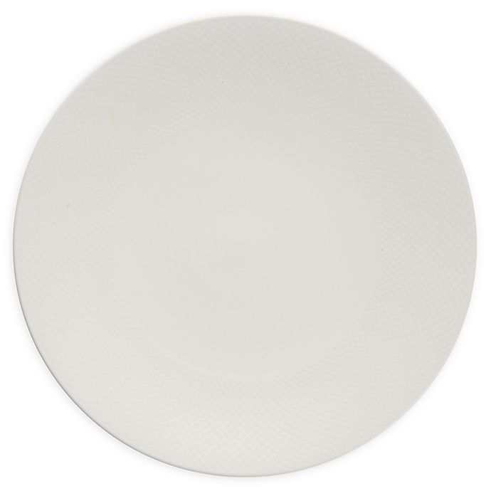 Alternate image 1 for Neil Lane™ by Fortessa® Trilliant Dinner Plates in Ivory (Set of 4)