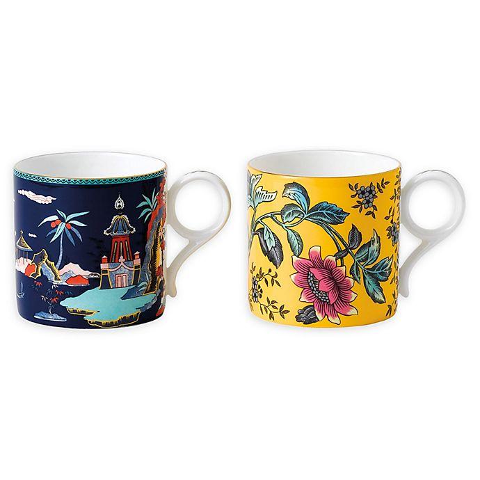 Alternate image 1 for Wedgwood® Wonderlust Mugs (Set of 2)