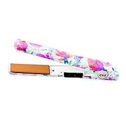 CHI Classic Tourmaline Ceramic Series 1-Inch Limited Edition Hairstyling Iron in Petals