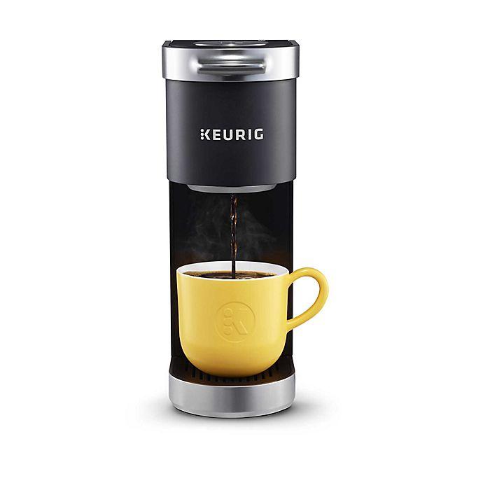 Alternate image 1 for Keurig® K-Mini Plus™ Single Serve K-Cup® Pod Coffee Maker in Black