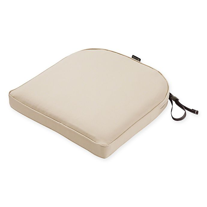 Alternate image 1 for Classic Accessories® Montlake™ FadeSafe 18-Inch x 18-Inch Outdoor Contoured Seat Cushion