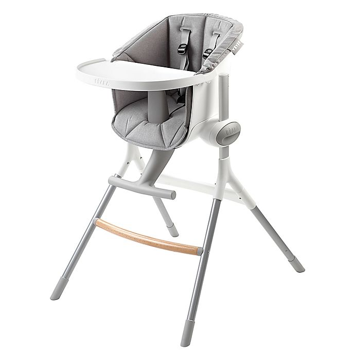 Beaba Up Down High Chair In White Buybuy Baby