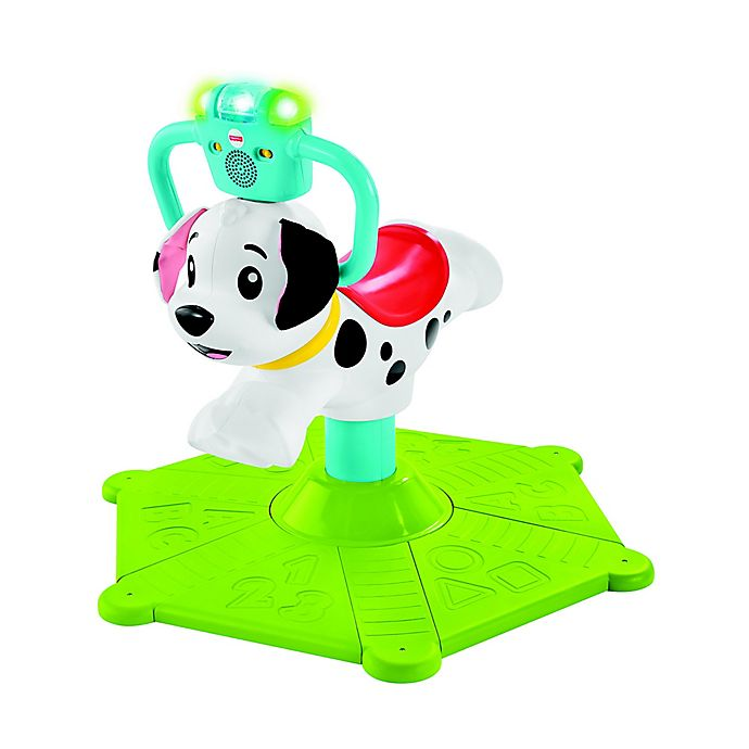 Alternate image 1 for Fisher-Price® Bounce & Spin Puppy