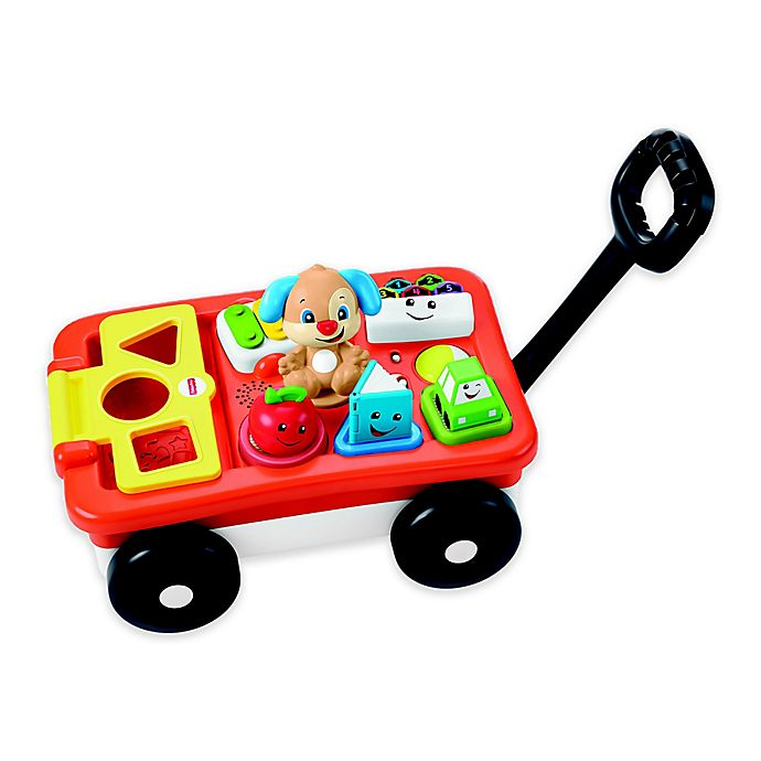 Alternate image 1 for Fisher-Price® Laugh & Learn® Pull & Play Learning Wagon