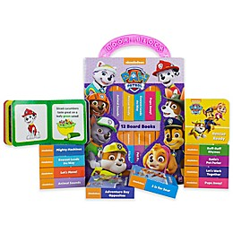 """Nickelodeon™ Paw Patrol """"My First Library"""" 12-Piece Book Set"""