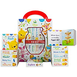 "Disney® Baby ""My First Library"" Winnie The Pooh 12-Piece Book Set"