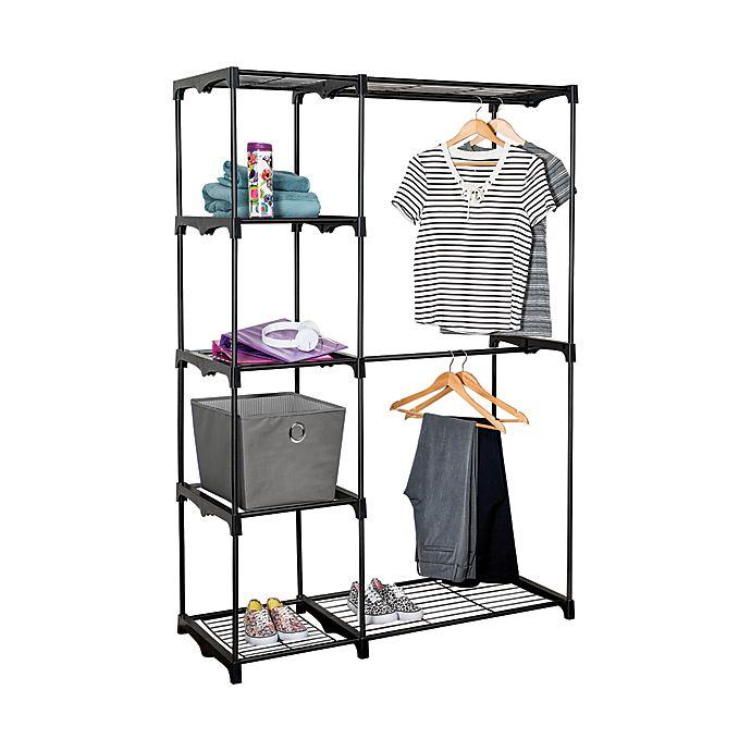 Honey Can Do 174 68 Inch Steel Freestanding Wardrobe Closet