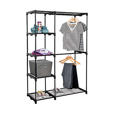 Honey-Can-Do® 68-Inch Steel Freestanding Wardrobe Closet