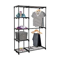 Honey-Can-Do® 68-Inch Steel Freestanding Wardrobe Closet
