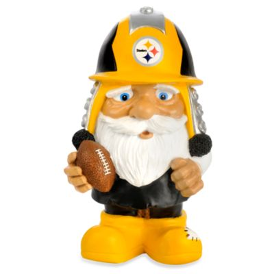 Pittsburgh Steelers Mad Hatter Garden Gnome Bed Bath