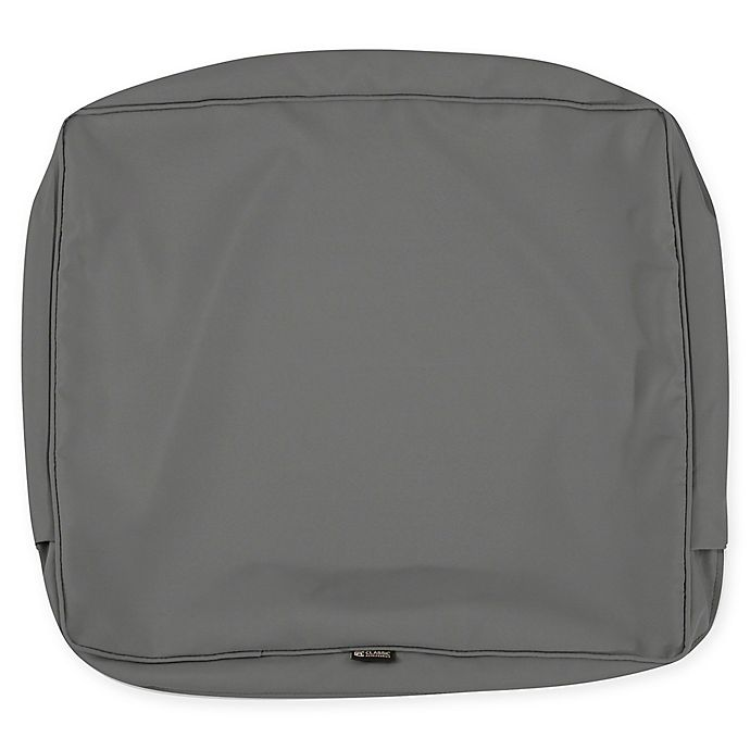 Alternate image 1 for Classic Accessories® Montlake™ 25-Inch x 18-Inch Lounge Back Cushion Slip Cover