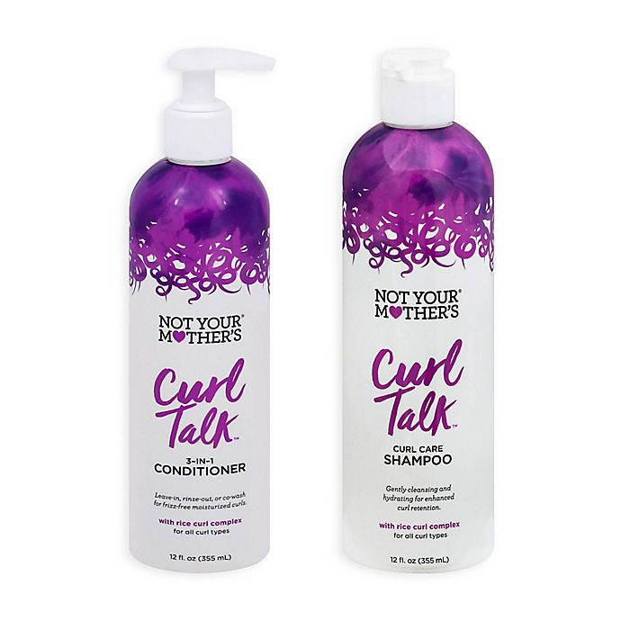 Alternate image 1 for Not Your Mother's® Curl Talk Curl Care Hair Collection