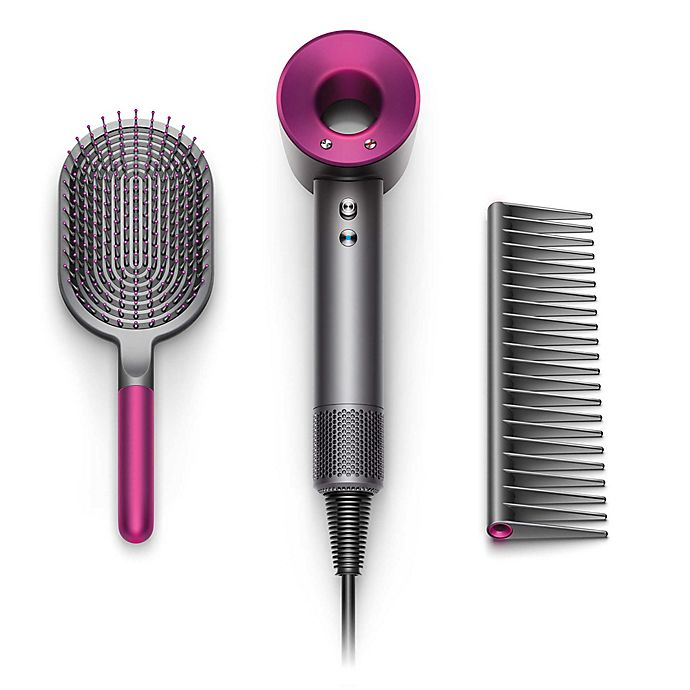 Alternate image 1 for Dyson Supersonic™ Special Edition Mother's Day Hair Dryer Gift Set in Iron/Fuchsia