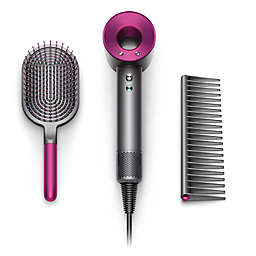 Dyson Supersonic™ Special Edition Mother's Day Hair Dryer Gift Set in Iron/Fuchsia