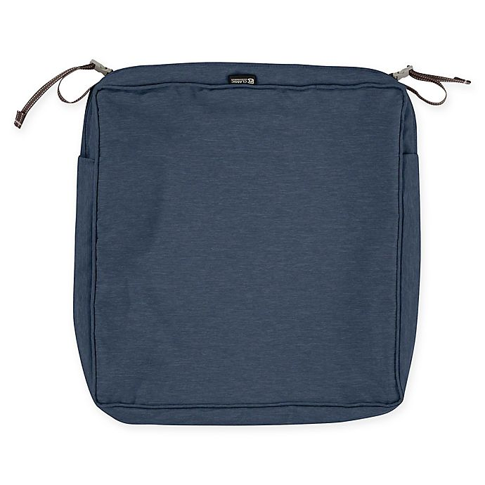Alternate image 1 for Classic Accessories® Montlake™ FadeSafe 17-Inch Dining Seat Cushion Slip Cover