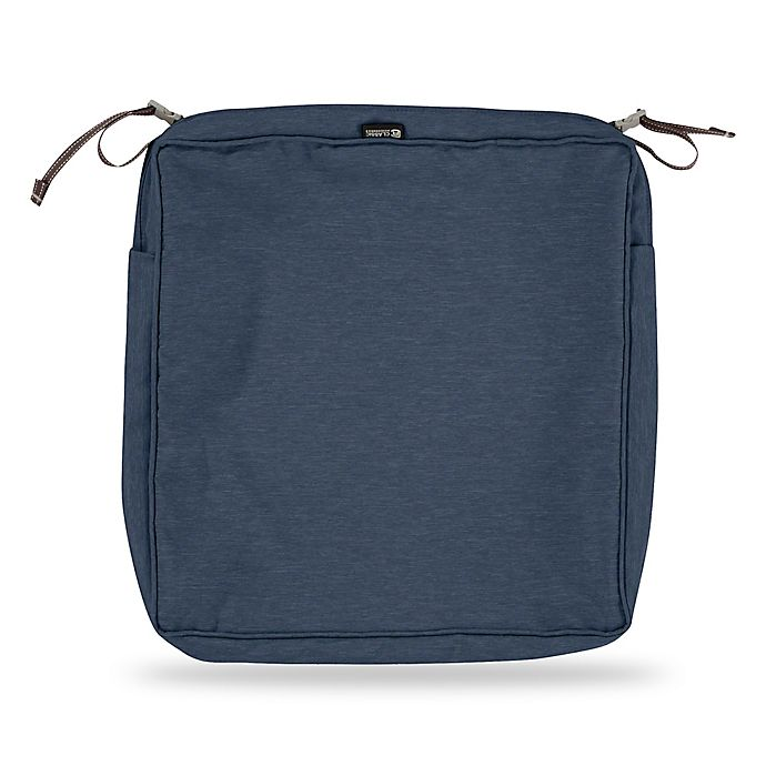 Alternate image 1 for Classic Accessories® Montlake™ FadeSafe 19-Inch Dining Seat Cushion Slip Cover
