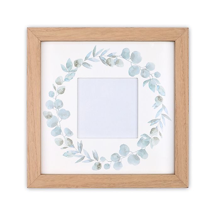 Alternate image 1 for The Peanutshell™ Farmhouse 11.75-Inch Square Picture Frame in White