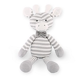 The Peanutshell™ Farmhouse Giraffe Plush Toy in Grey