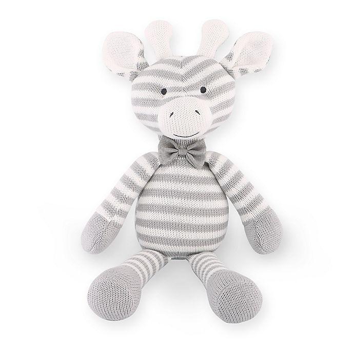 Alternate image 1 for The Peanutshell™ Farmhouse Giraffe Plush Toy in Grey